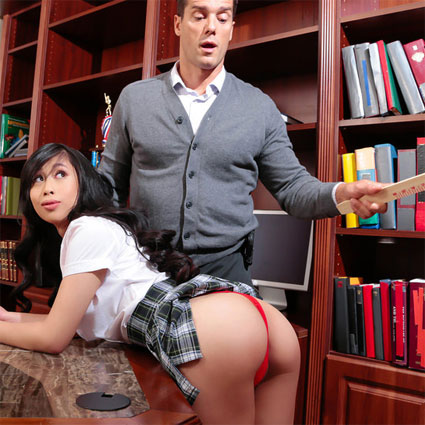 jade kush asian schoolgil